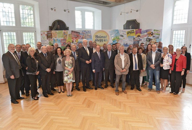 Rückblick: Händler diskutieren mit Wirtschaftsminister Garrelt Duin