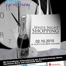 White Night Shopping in Balve