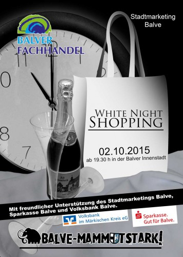 White Night Shopping in Balve