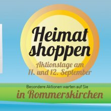 """Rommerskirchener """"Heimat shoppen"""""""