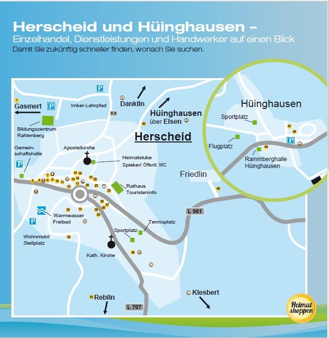 """Marketingverein """"Wir für Herscheid e.V."""" sorgt für Überblick"""