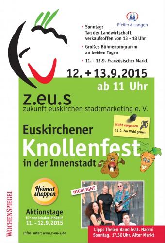 13. Knollenfest und Aktionstage Heimat shoppen