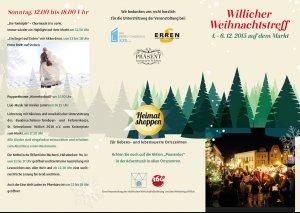 Weihnachtstreff Flyer 1