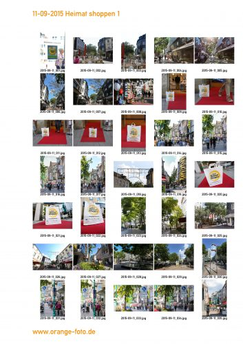 Heimat shoppen am 9. und 10.9.: 53 Werbegemeinschaften in 28 Städten beteiligen sich