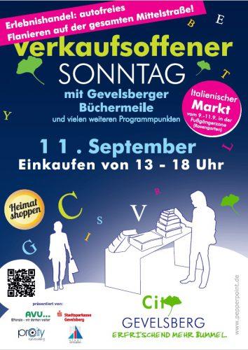 Verkaufsoffener Sonntag in Gevelsberg macht Handel zum Erlebnis