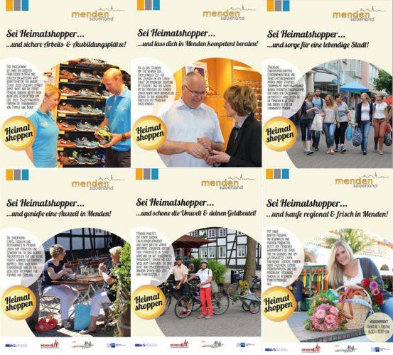 Vorbereitungen für das Heimat shoppen laufen in Menden auf Hochtouren!