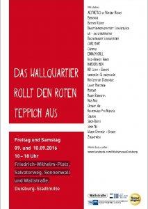 Wallstraße Plakat Roter Teppich bearbeitet