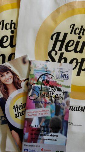 Verkaufsoffener Sonntag und Stadtfest am Heimat shoppen-Wochenende