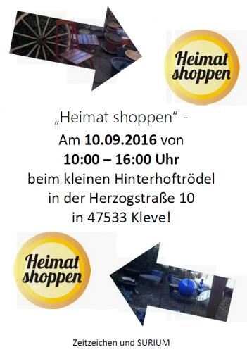 """""""Heimat shoppen"""" in Kleve verbindet Handwerkskunst mit Einkaufsvergnügen"""