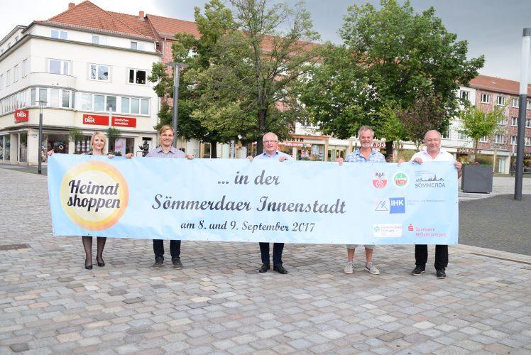 """""""Heimat shoppen"""" in Sömmerda – Anmeldung für Unternehmen noch bis zum 14. August möglich"""