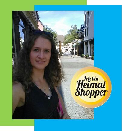 Nadine schätzt die gemütliche Einkaufsatmosphäre in Herdecke