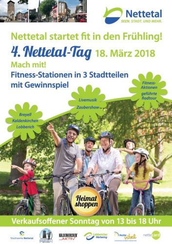 """Fit in den Frühling"" zum Nettetal-Tag am 18.03.2018"
