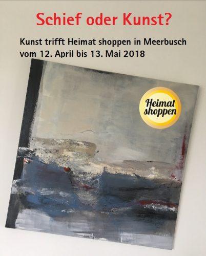 Kunst trifft Heimat shoppen in Meerbusch