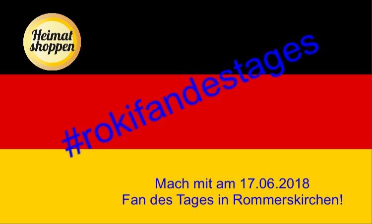Selfie-Aktion in Rommerskirchen #RokiFandesTages