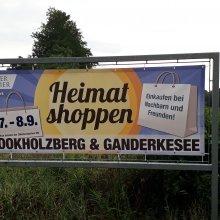 Einkaufen bei Nachbarn und Freunden mit Rock 'n Roll und Oldtimern in Ganderkesee und Bookholzberg