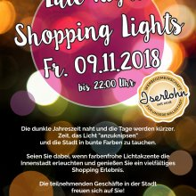 Farbenfrohes Late Night Shopping in Iserlohn