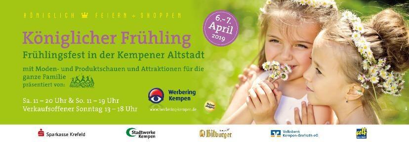 Plakat Frühlingsfest Kempen