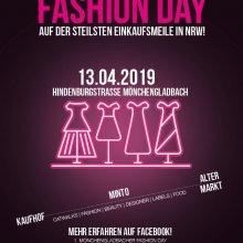1. Mönchengladbacher Fashion Day auf der steilsten Einkaufsmeile in NRW!