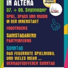 Stadtfest in der Altenaer Innenstadt