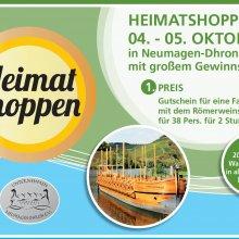 Ahoi beim Heimat shoppen am 4./5. Oktober in Neumagen und Leiwen