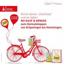 Gemeinsam für Bremen, Radtour durch die Bremer Stadtteile am 12. September 2020
