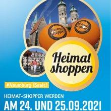 Heimat Shoppen in Naumburg (Saale) am 24. und 25. September 2021
