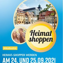 """Am 24. und 25. September 2021 """"Heimat shoppen"""" in der Weißenfelser Innenstadt"""