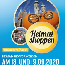 Heimat Shoppen in Naumburg (Saale) am 18. und 19. September