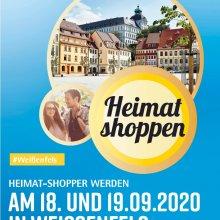 Am 18. und 19. September Heimat shoppen in der Weißenfelser Innenstadt