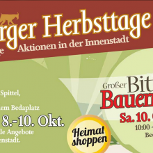 Bitburger Herbsttage (08.10. – 10.10.2020)