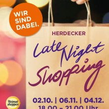 Herdecker Late-Night-Shopping am 6. November