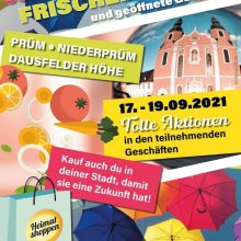 Heimat shoppen-Wochenende in Prüm (17.-19.09.2021)