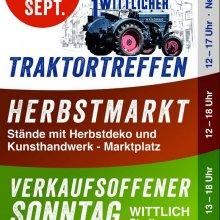 Märkte, Menschen und Traktoren in Wittlich (10.-12.09.2021)